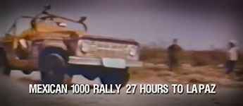 Thumbnail image for 27 Hours To La Paz – NORRA Maxican 1000 Rally Film