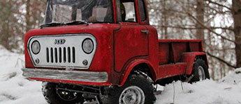 Thumbnail image for Headquake's 1960 Jeep FC170