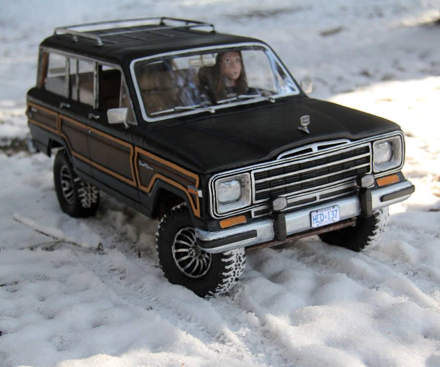 1989 jeep grand wagoneer headquake off road action 7. Cars Review. Best American Auto & Cars Review