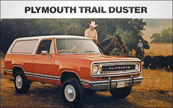 Plymouth Trailduster on Dodge Ram Engine Block