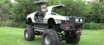 Thumbnail image for Delorean Monster Truck
