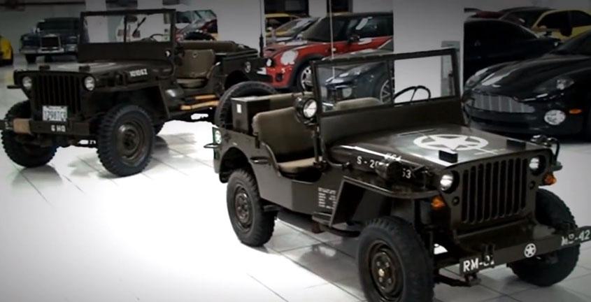 Svært Hand Built Mini-Jeeps out of Bolivia GV-59