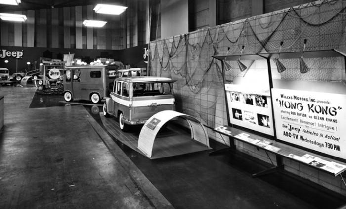1961_Chicago_Auto_Show_Jeep_Exhibit