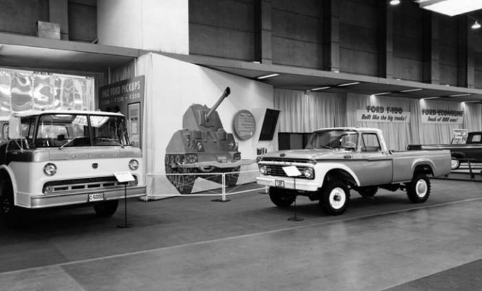 1963_Chicago_Auto_Show_Ford_Trucks