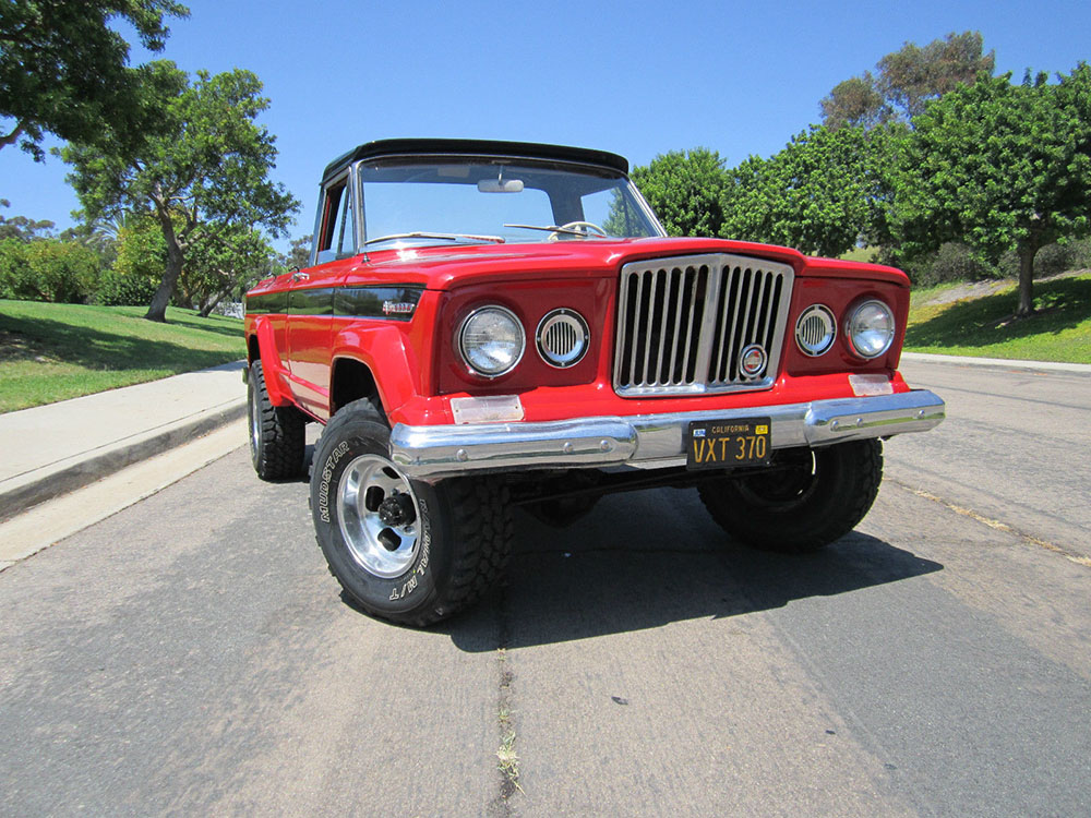 Off Road Truck Tires >> 1968 Jeep Gladiator Kaiser J2000
