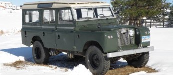 Thumbnail image for 1967 Land Rover Series IIa 109 NADA Wagon