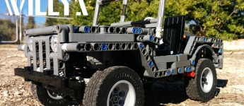 Thumbnail image for LEGO Willys Jeep