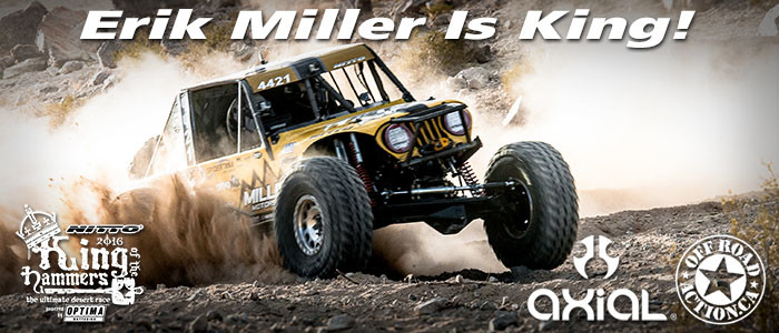Erik Miller is King! - 2016 King of the Hammers