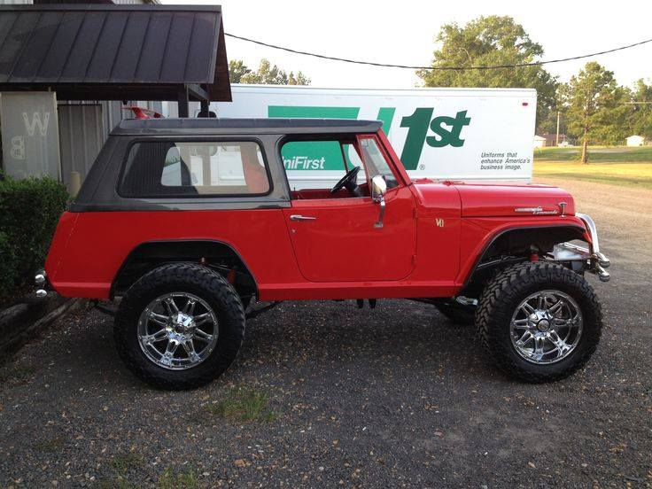 jeep commando jeepster 1969 commander jeeps road 4x4 man randy 1973 lifted cool wrangler boss 1966 walker scrambler yj 1972