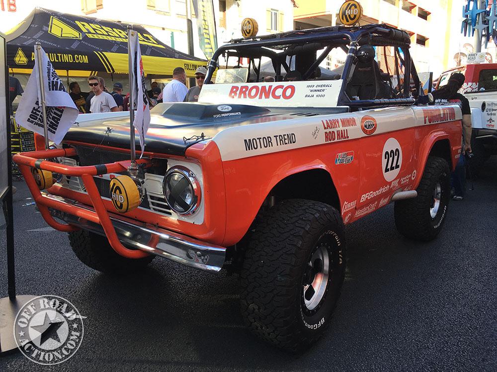 Vintage Race Vehicles At The 2016 Mint 400