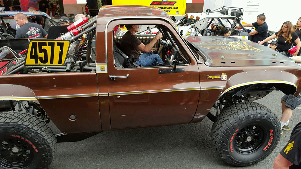 Vintage Race Vehicles At The 2016 Mint 400