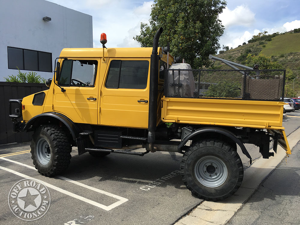 Off Road Fire Truck >> 1990 Double Cab Unimog