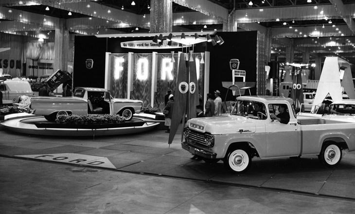 chicago auto show  u2013 1950 u2019s
