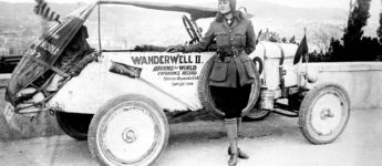 Thumbnail image for Aloha Wanderwell – The First Woman to Drive Around the World