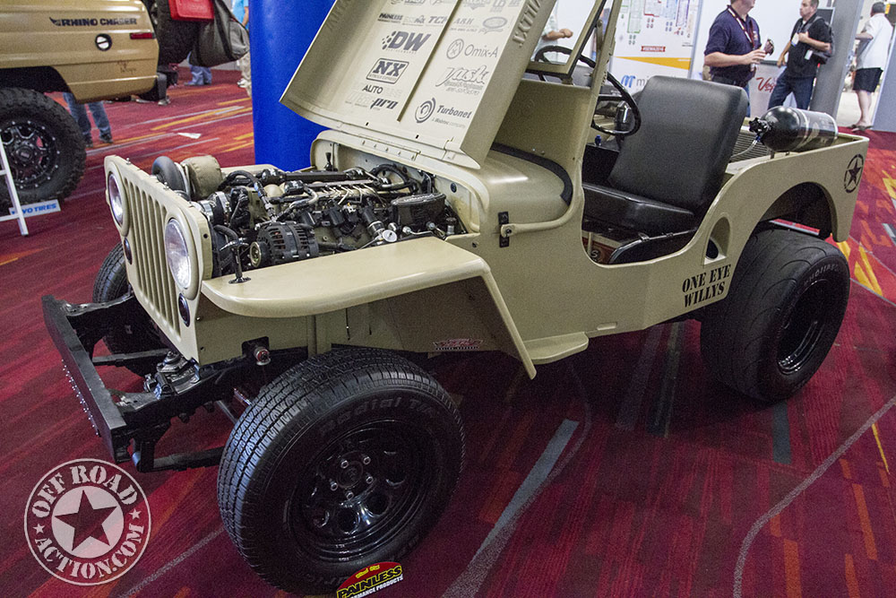 Sema Off Road Action Pt on Curtis Snow Plow Models