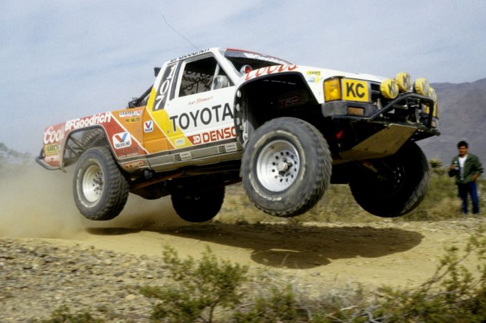 "Ivan ""Ironman"" Stewart at the 1986 Mojave race."