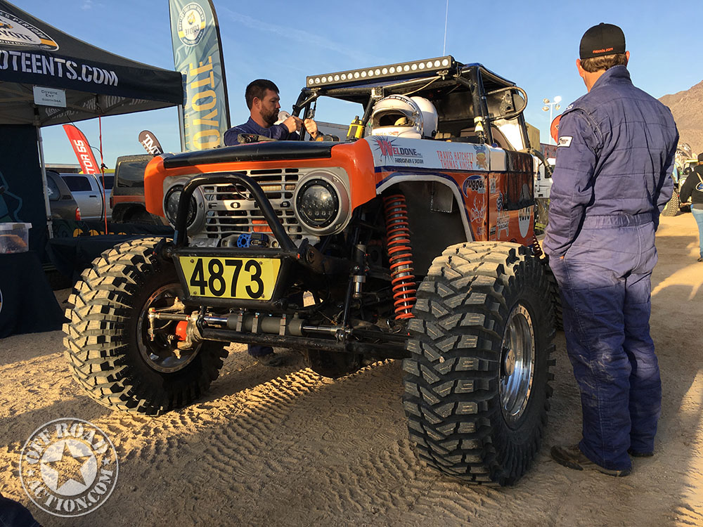 King Of The Hammers Vintage Rides Off Road Action on Vintage Toyota Land Cruiser
