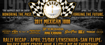 Thumbnail image for 2017 NORRA Mexican 1000 Rally Day 1 Recap