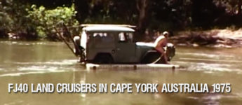 Thumbnail image for FJ40 Toyota Land Cruisers in Cape York Australia 1975