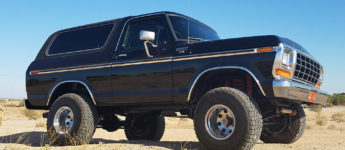 Thumbnail image for Restored 1978 Ford Bronco