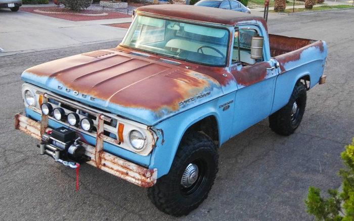 New Dodge Truck >> 1968 W100 Dodge Power Wagon