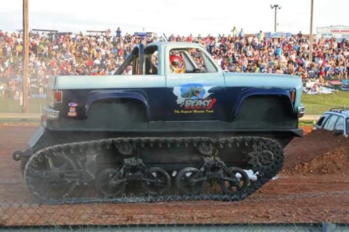 Virginia Beach Beast Tank Track Monster Truck Photos