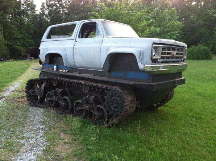 virginia beach beast tank track monster truck