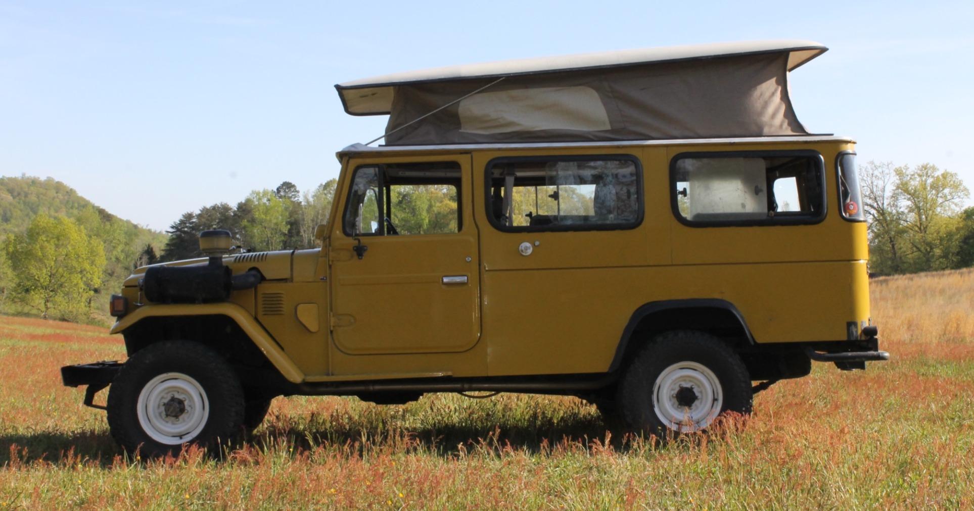 Toyota Land Cruiser Diesel >> 1979 HJ45 Toyota Land Cruiser Pop Top Camper