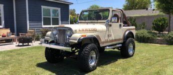 Thumbnail image for 1986 Jeep CJ7 Laredo